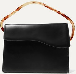 Aiges Leather And Resin Tote - Black