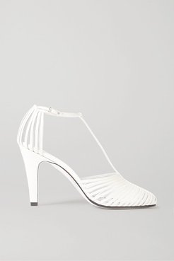 Leather Pumps - Off-white