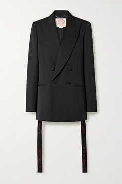 We Are The Weather Oversized Wool Blazer - Black