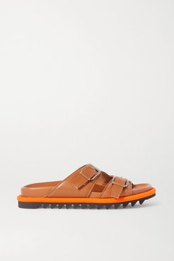 Leather Sandals - Tan