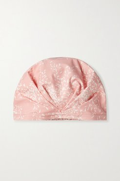 The Basilica Printed Shower Cap - Pink