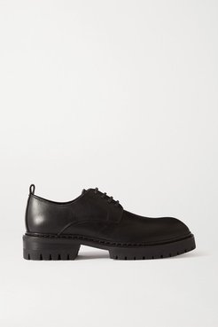 Leather Brogues - Black