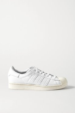 Superstar Leather Sneakers - White