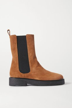 Palamino Suede Chelsea Boots - Tan