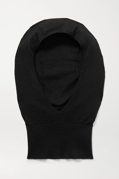 Badu Cashmere And Silk-blend Snood - Black