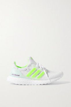 Ultraboost 5 Dna Rubber-trimmed Primeblue Sneakers - White