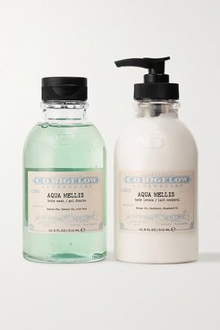 Iconic Collection Body Wash And Lotion Set - Aqua Mellis