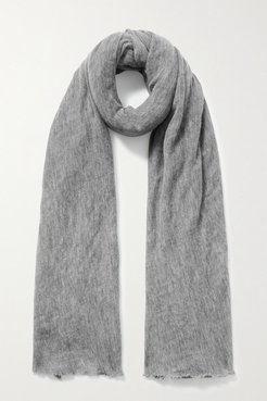 Zephyr Cashmere Scarf - Gray