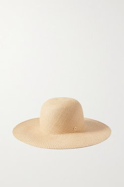 La Fossette Straw Hat - Yellow