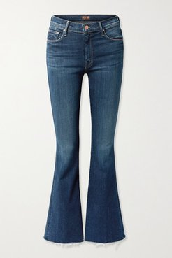 The Weekender High-rise Flared Jeans - Mid denim