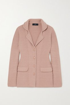 Carnaby Cashmere Jacket - Antique rose