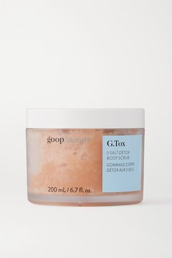 G.tox 5 Salt Detox Body Scrub, 200ml