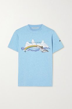 Greenpeace Printed Organic Cotton-jersey T-shirt - Blue