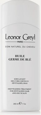Huile De Germe De Blé Washing Treatment For Devitalised Hair And Oily Scalps, 200ml