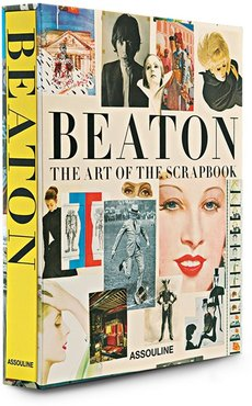 Cecil Beaton: The Art of the Scrapbook book - Yellow
