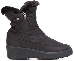 Veronica wedge ankle boots - Black