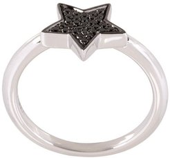 'STASIA' single star diamond ring - Metallic