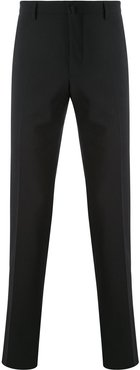 straight-leg trousers - Black