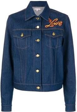 I Do My Own Thing jacket - Blue