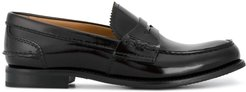Pembrey 20 Polished Leather Loafers - Brown