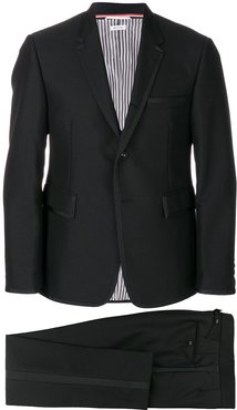Grosgrain Tipping Tuxedo With Bow Tie - Black