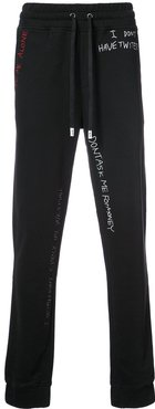 Skribble sweatpants - Black