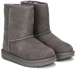 shearling-lined snow boots - Grey