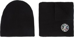 1st Tracks hat & scarf - Black