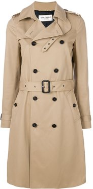 belted classic trench coat - Neutrals