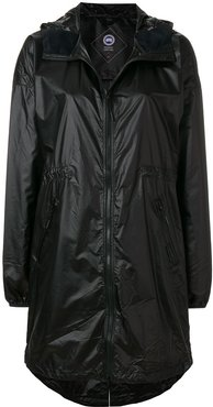 Rosewell hooded shell jacket - Black
