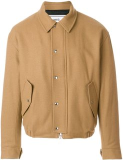Quilted Zipped Jacket - Neutrals