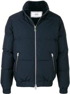 Lined Down Jacket - Blue