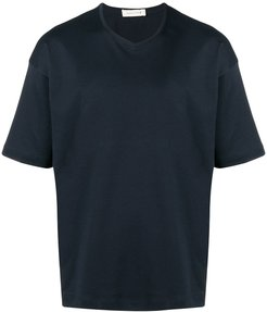 V-neck T-Shirt - Blue