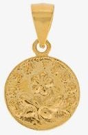 18K gold-plated Forget Me Not pendant