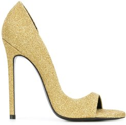 party pumps - Metallic