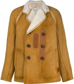buttoned jacket - Brown