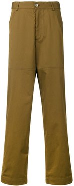 relaxed trousers - Green
