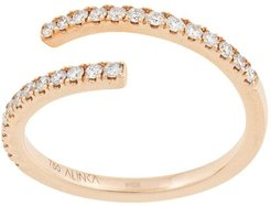 18kt yellow gold ECLIPSE diamond ring