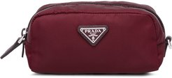 fabric cosmetic bag - Red