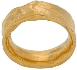 Dante's Shadow band ring - GOLD