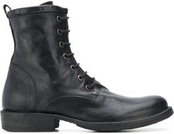 lace-up Eternity boots - Black