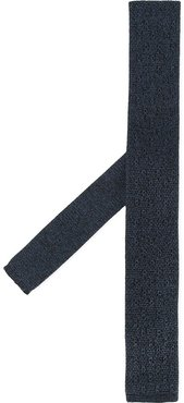 knitted tie - Blue