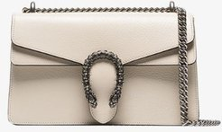 white Dionysus small leather shoulder bag