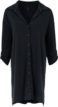 Meline UV beach shirt - Black