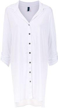 Meline UV beach shirt - White