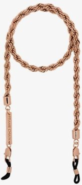 gold-plated Hey Shorty fat roller glasses chain