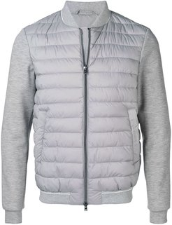 double layered jacket - Grey