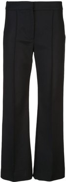 cropped trousers - Black