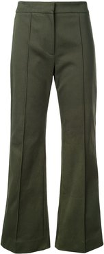 cropped trousers - Green