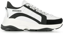 chunky sole sneakers - White